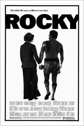 Canvas print  Rocky - Entertainment Collection