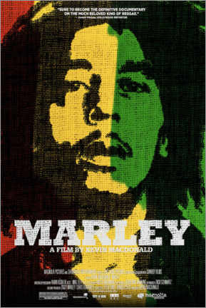 Foam board print  Marley - Entertainment Collection