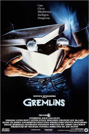 Premium poster  Gremlins (English) - Entertainment Collection