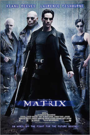 Canvas print  The Matrix (English) - Entertainment Collection