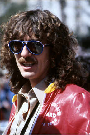 Canvas print  George Harrison, Long Beach Grand Prix, 1978