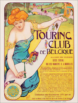 Gallery print  Touring Club de Belgique - Georges Gaudy