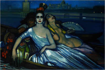 Wall sticker  Muses on the Guadalquivir - Federico Beltrán Masses