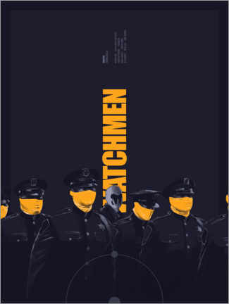 Gallery print  watchmen - Fourteenlab
