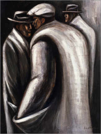 Acrylic print  The unemployed - José Clemente Orozco