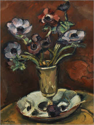 Foam board print  Still life with anomalies - Emile Othon Friesz