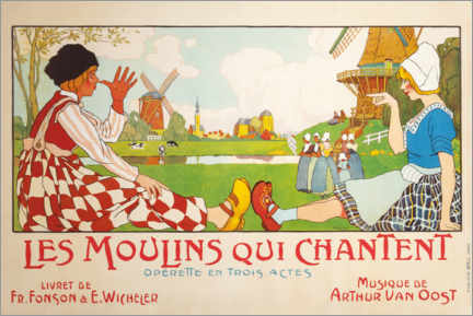 Gallery print  The Singing Mills (French) - Henri Cassiers