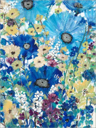 Premium poster Wild flower meadow