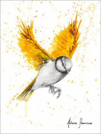 Premium poster Golden Bird