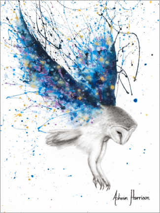 Premium poster  The Spirit Owl - Ashvin Harrison