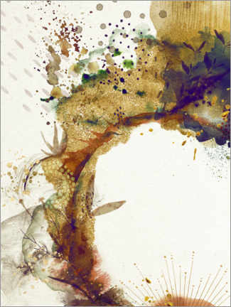 Canvas print  Abstract botany - Sybille Sterk