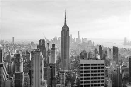 Premium poster  Empire State Building - Jan Christopher Becke