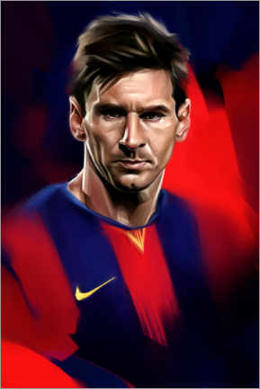 Premium poster  Lionel Messi - Dmitry Belov