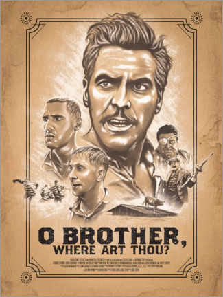 Acrylic print  O Brother, Where Art Thou - The Usher designs
