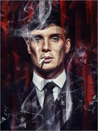 Aluminium print  Peaky Blinders - Dmitry Belov