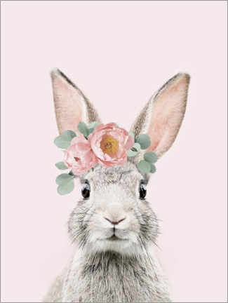 Foam board print  Flower bunny - Sisi And Seb