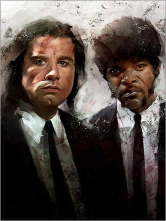 Wood print  Pulp Fiction - Dmitry Belov