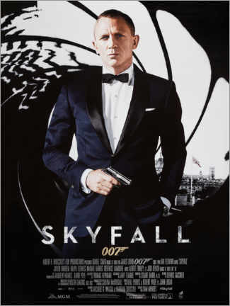 Wall sticker  Skyfall - Entertainment Collection