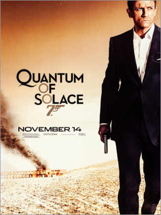 Canvas print  Quantum of Solace - Entertainment Collection