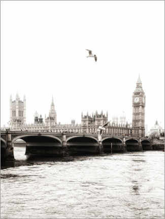 Premium poster  London - Magda Izzard