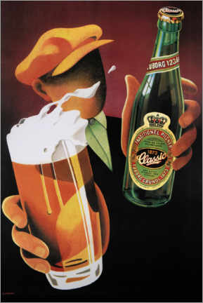 Premium poster  Tuborg Classic - Advertising Collection