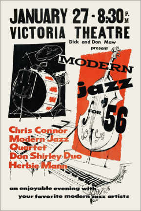 Premium poster  Modern Jazz - Advertising Collection