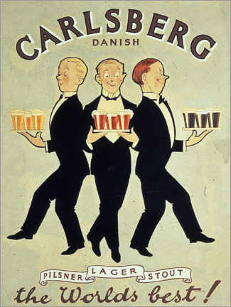 Premium poster  Carlsberg - Advertising Collection