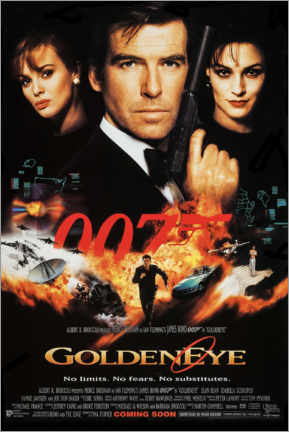 Wall sticker  GoldenEye - Entertainment Collection