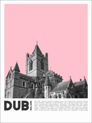 Premium poster  Attractions in Dublin II - Finlay and Noa