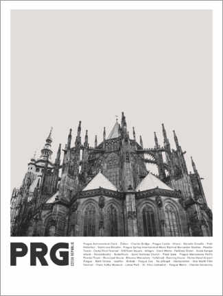 Premium poster  Sightseeing in Prague II - Finlay and Noa