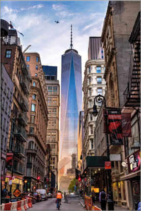 Premium poster  One World Tower in New York - Mike Centioli