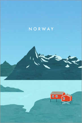 Canvas print  Norway - Katinka Reinke
