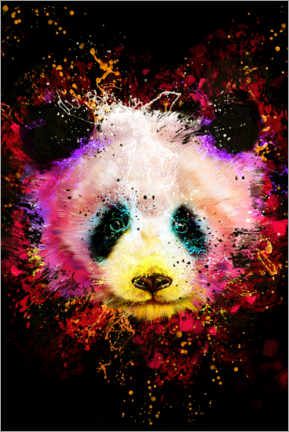 Premium poster  Panda - Dmitry Belov