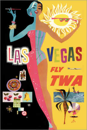 Acrylic print  Las Vegas - Travel Collection