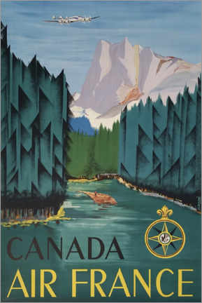 Canvas print  Canada - Travel Collection