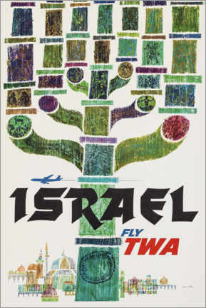 Premium poster  Israel - Travel Collection