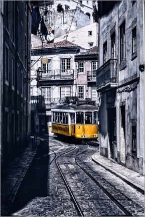 Premium poster  Stories of Lisbon - Jorge Maia