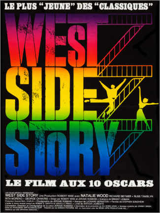 Premium poster West Side Story (French)