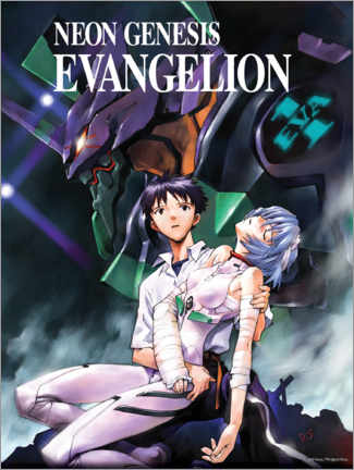 Wood print  Neon Genesis Evangelion - Entertainment Collection