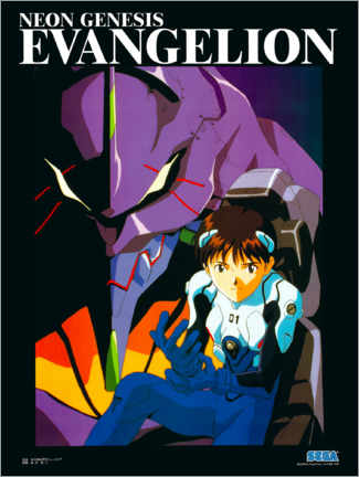 Foam board print  Neon Genesis Evangelion - Entertainment Collection