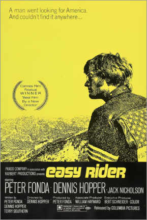 Canvas print  Easy Rider - Entertainment Collection