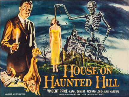 Premium poster House on Haunted Hill