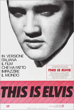 Gallery print  This is Elvis - Entertainment Collection