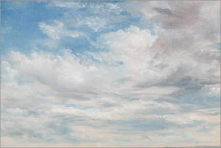 Acrylic print  Clouds - John Constable