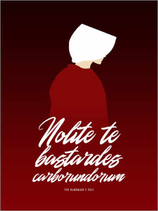 Premium poster The Handmaid's Tale – Quote