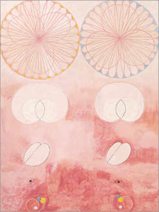 Foam board print  The Ten Largest, No. 9 - Hilma af Klint