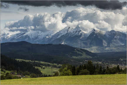 Wall sticker View of the High Tatras