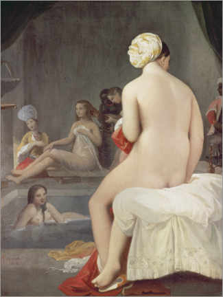 Gallery print  The little bather - Jean Auguste Dominique Ingres