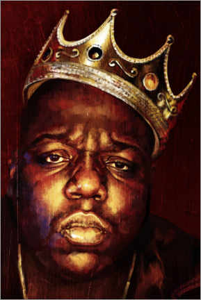 Canvas print  Biggie Smalls - Dmitry Belov