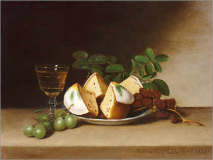 Wall sticker  Still life with cake - Raphaelle Peale
